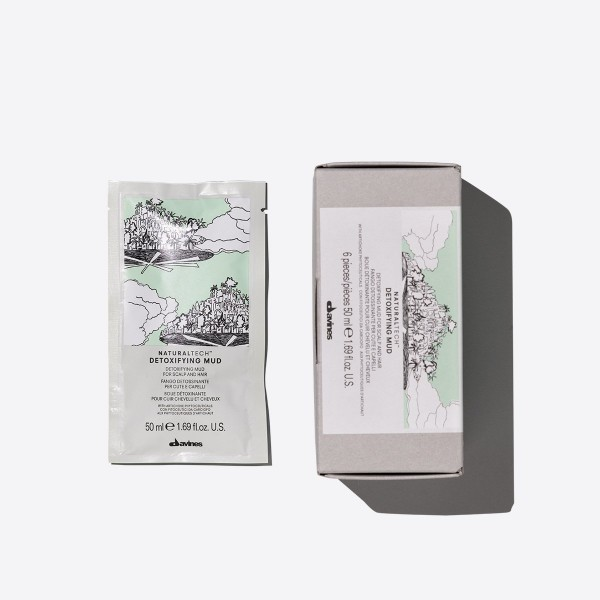 Davines NaturalTech Detoxifying Mud Mask